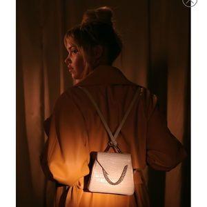 Celebrity stylist Jill Jacobs Leather Backpack